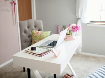 10 chic home offices fabulously disheveled