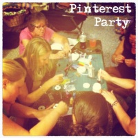 I went to a Pinterest Party this weekend