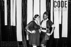 CODE Cincinnati Chasher event October 2012 with Geborah Steven