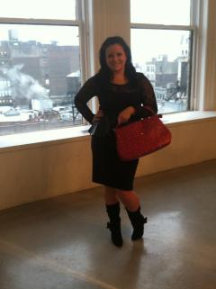 Lena Erizak Handbags showroom NYFW Feb 2013