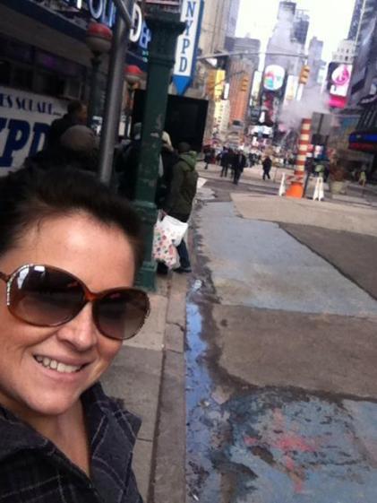 NYFW Times Square Feb 2013