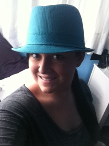 Turquoise Fedora
