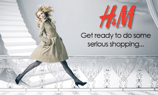Fabulously Disheveled H and M online shopping in US