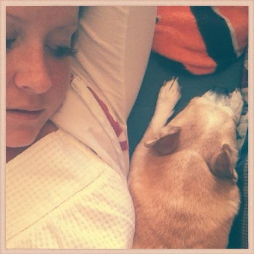 Sundays = Lazy snuggles with Mr Big