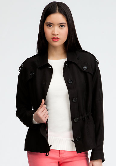 Bebe Shawna drawstring jacket