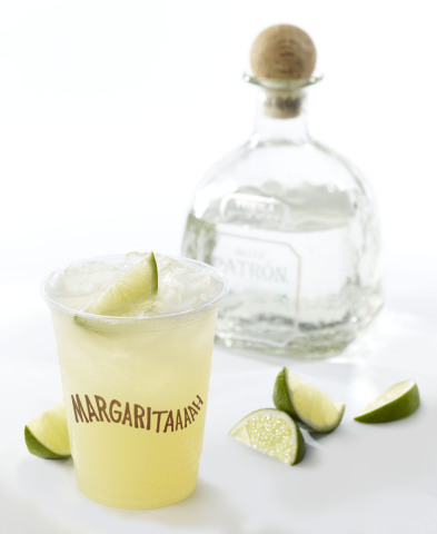 Fabulously Disheveled Margarita+PatronBottle