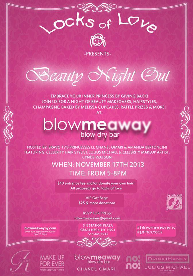 Blow Me Away BlowDry Bar Beauty Night Out