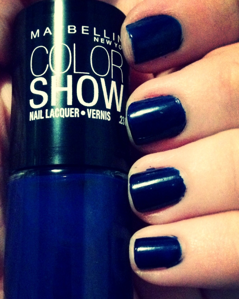 Maybelline Color Show in Sapphire Siren3