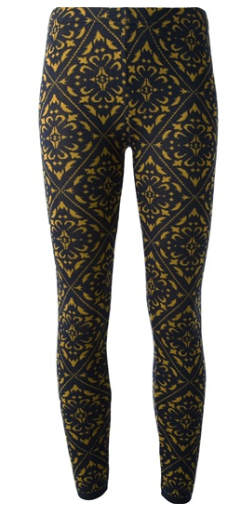 Arabesque Printed Leggings by Circus Hotel