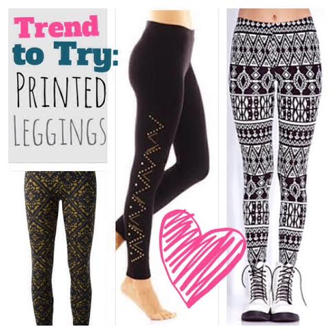 Trend to Try - Printed Leggings