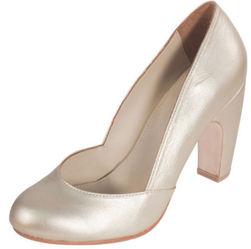 Julie Bee New York Pump Leather Platinum