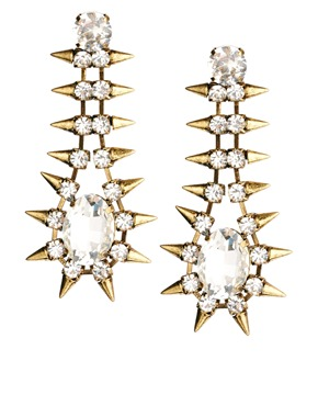 Nali Spike Earrings at ASOS