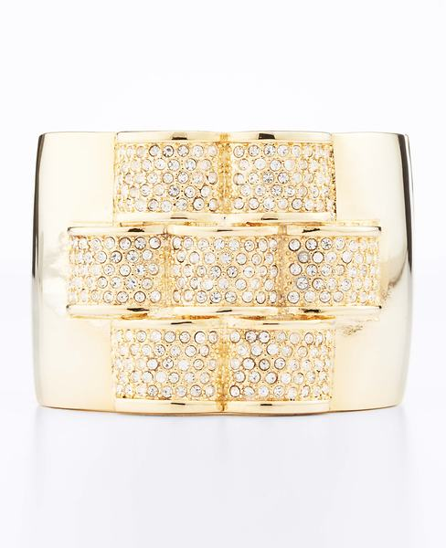 Pave Bar Cuff Bracelet at Anne Taylor