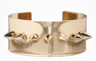 Spiked Metal Cuff Bracelet at Express