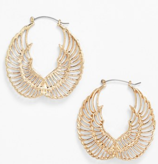 Guinevere Lincoln Wings Earrings at Nordstrom