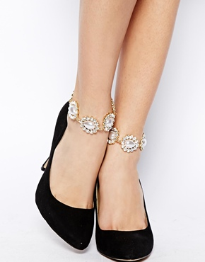 ASOS Faux Pearl Anklet