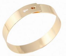 ChicNova Gold Metal Ankle Bracelet