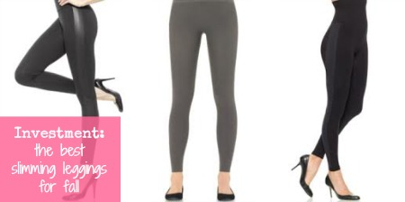 Investment - the best slimming leggings for fall