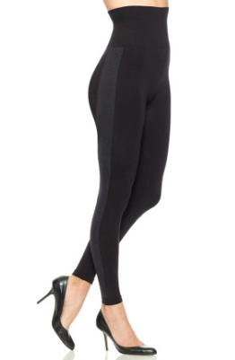 SPANX Slimming Leggings, Seamless Side Stripe