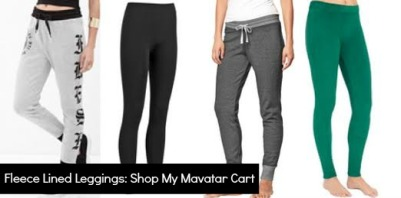 fleece leggings mavatar