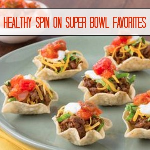 Healthy Spin on Super Bowl Favorites