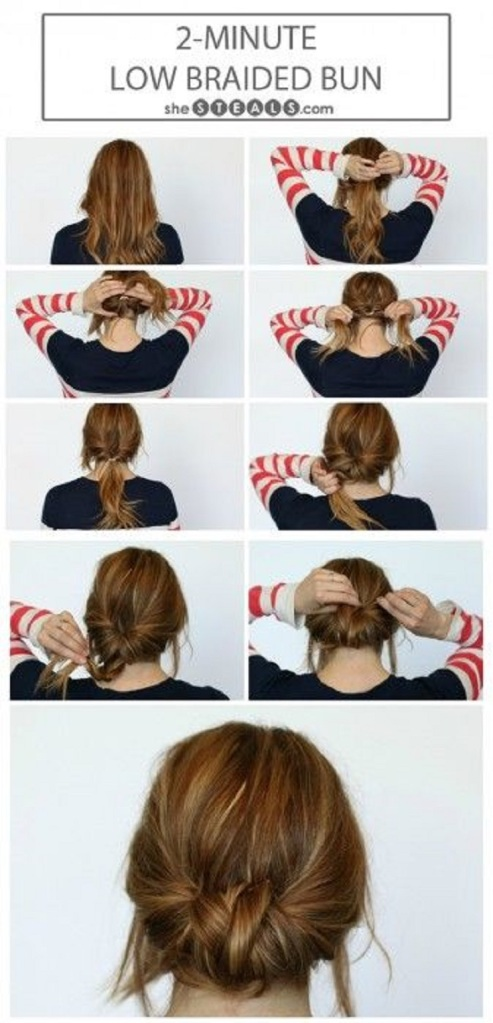 Low-Braided-Bun