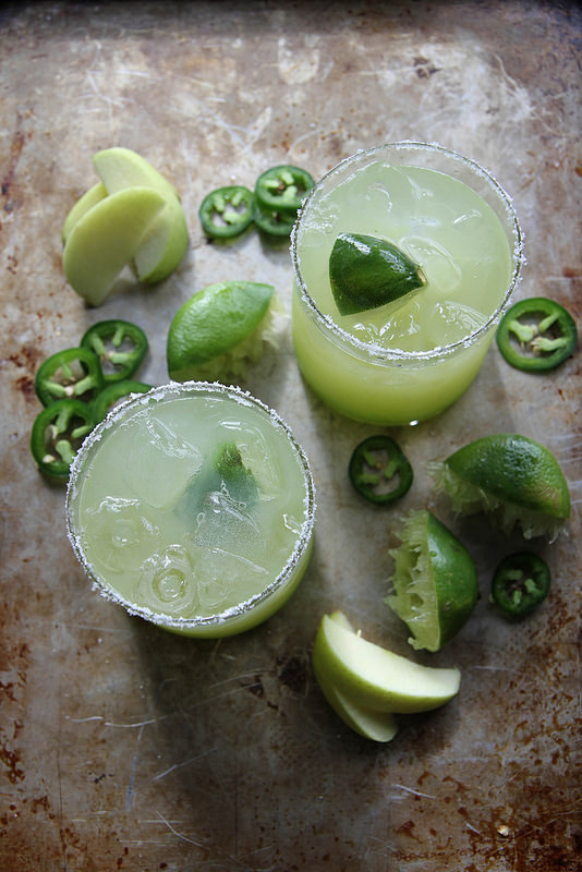 Spicy Sour Apple Margarita