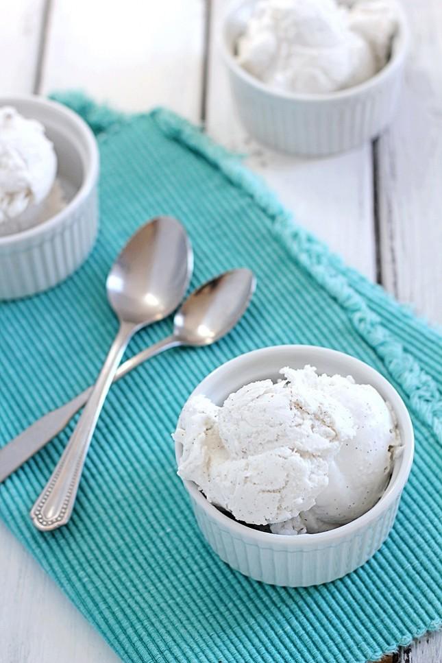 Sugar Free Coconut Vanilla Ice Cream