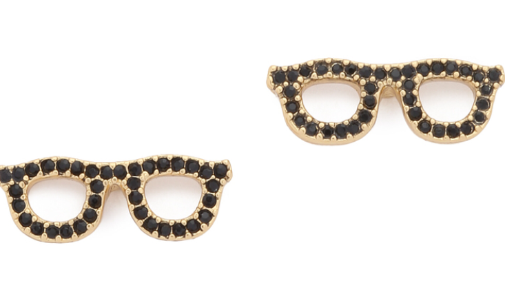 Kate Spade Glasses Earrings