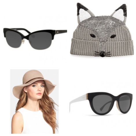 fall hats and sunnies