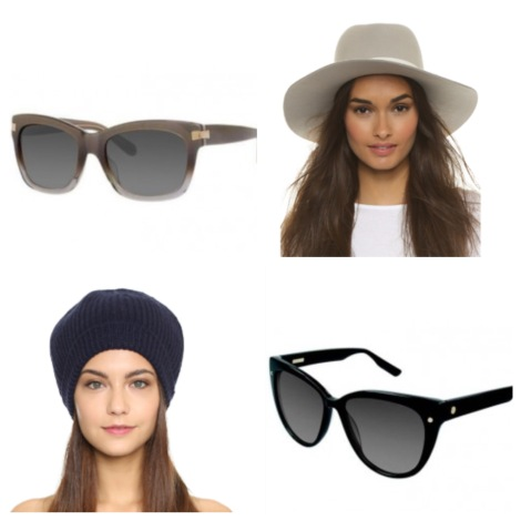 Fall hats with sunnies
