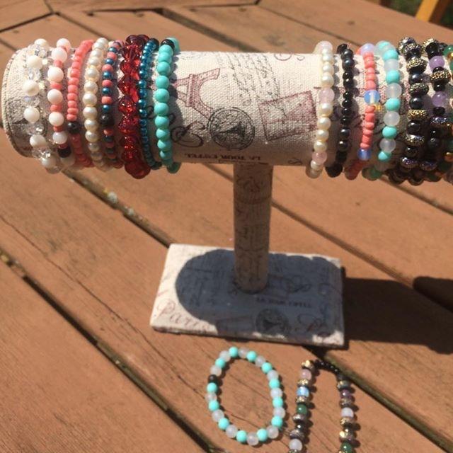 essential oil diffusing bracelets