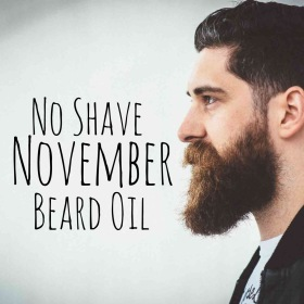 DIY No Shave November Beard Oil