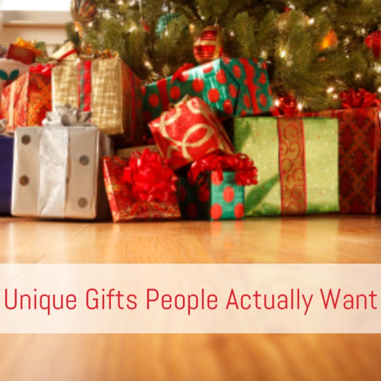 Unique Christmas Gifts People Actually Want