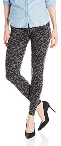 BETSEY JOHNSON WOMEN'S LEOPARD FLEECE LEGGING