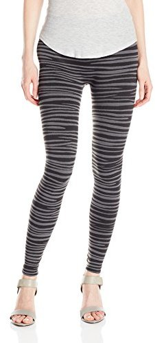 BETSEY JOHNSON WOMEN'S ZEBRA FLEECE LEGGING