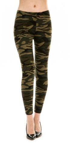 FRONT PORCH BOUTIQUE CAMO FLEECE LEGGING