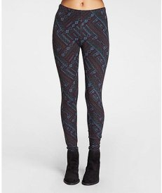 THREADS 4 THOUGHT NORDIC PATCHWORK FLEECE LEGGING