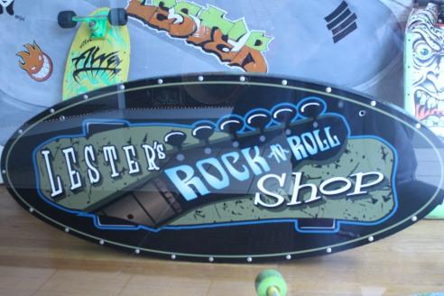 Lester's Rock n Roll Shop